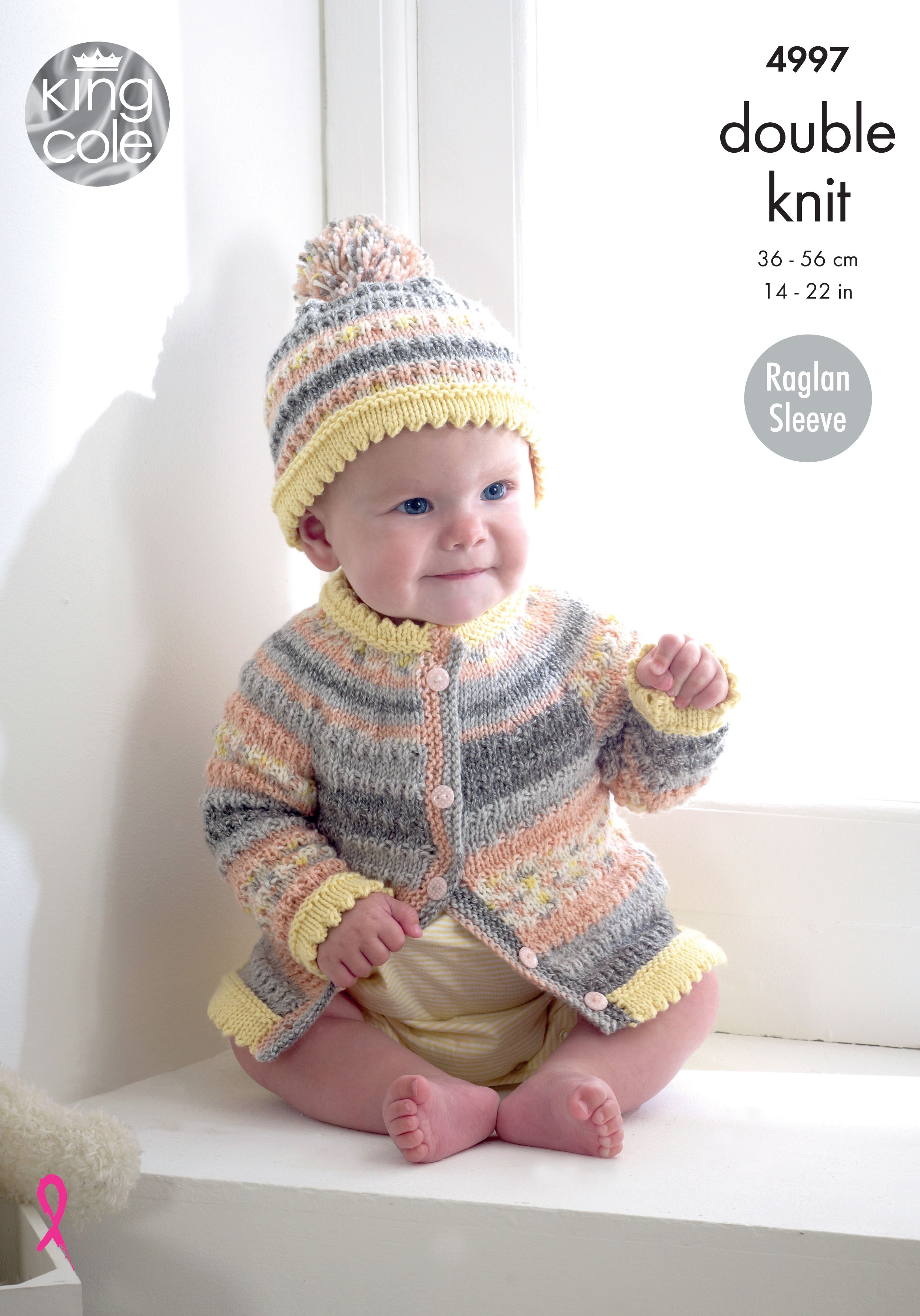 Cardigans, Sweater & Hat Knitted in Various DK - King Cole ...