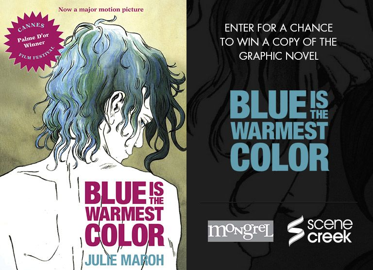 If You Live In Canada You Can Win A Copy Of Blue Is The Warmest