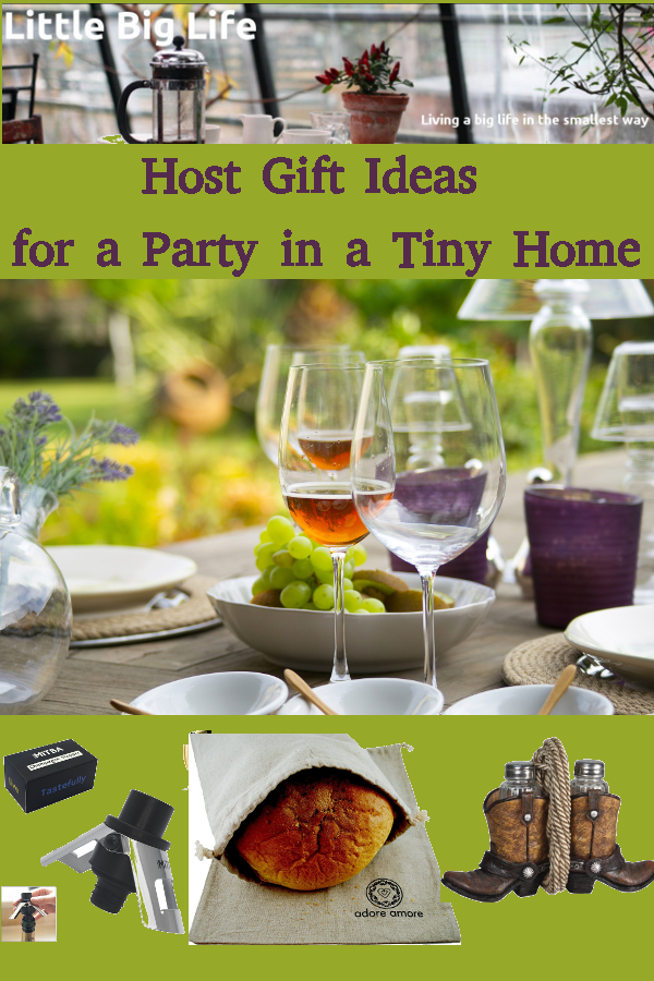 Host Gift Ideas For A Party In A Tiny Home Tiny House