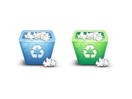 Recycle Bin Icon Psd Free Recycle Bin Icon Recycling Bins Recycling