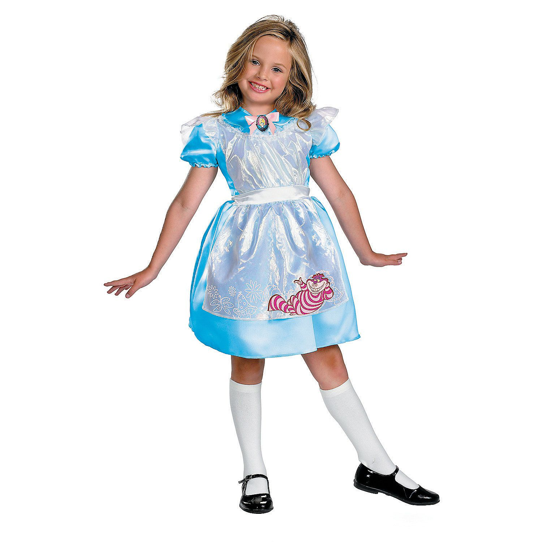 girl's classic alice in wonderland™ costume - small | halloween