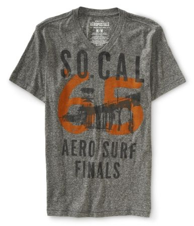 e410ba4cdbcd2 Chaleco De Camiseta · So Cal Aero Surf V-Neck T Canguros