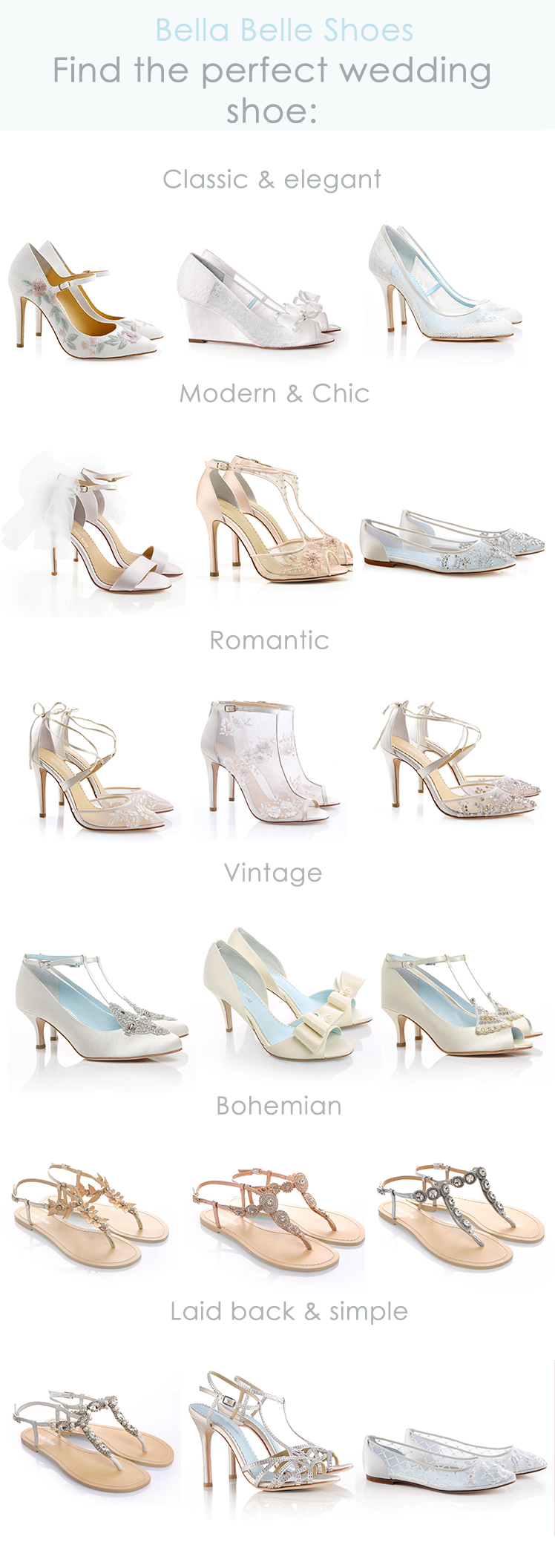 Find Your Perfect Wedding Shoe With Bella Belle S Ultimate Guide