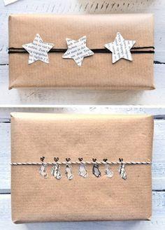 Geschenke in Packpapier verpacken – miss red fox #geschenkeverpacken