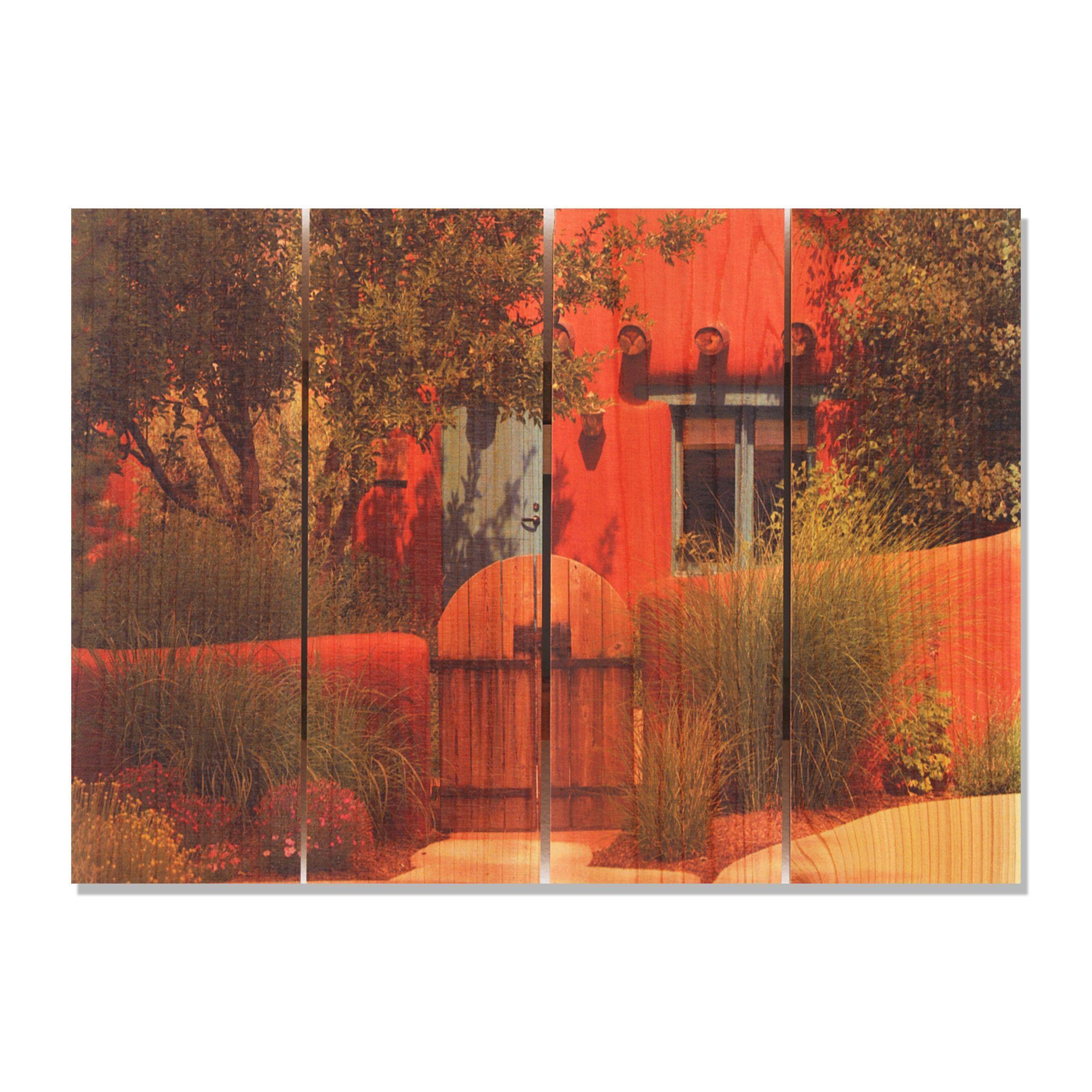 La Casa 22.5x16 Indoor/ Outdoor Full Color Wall Art