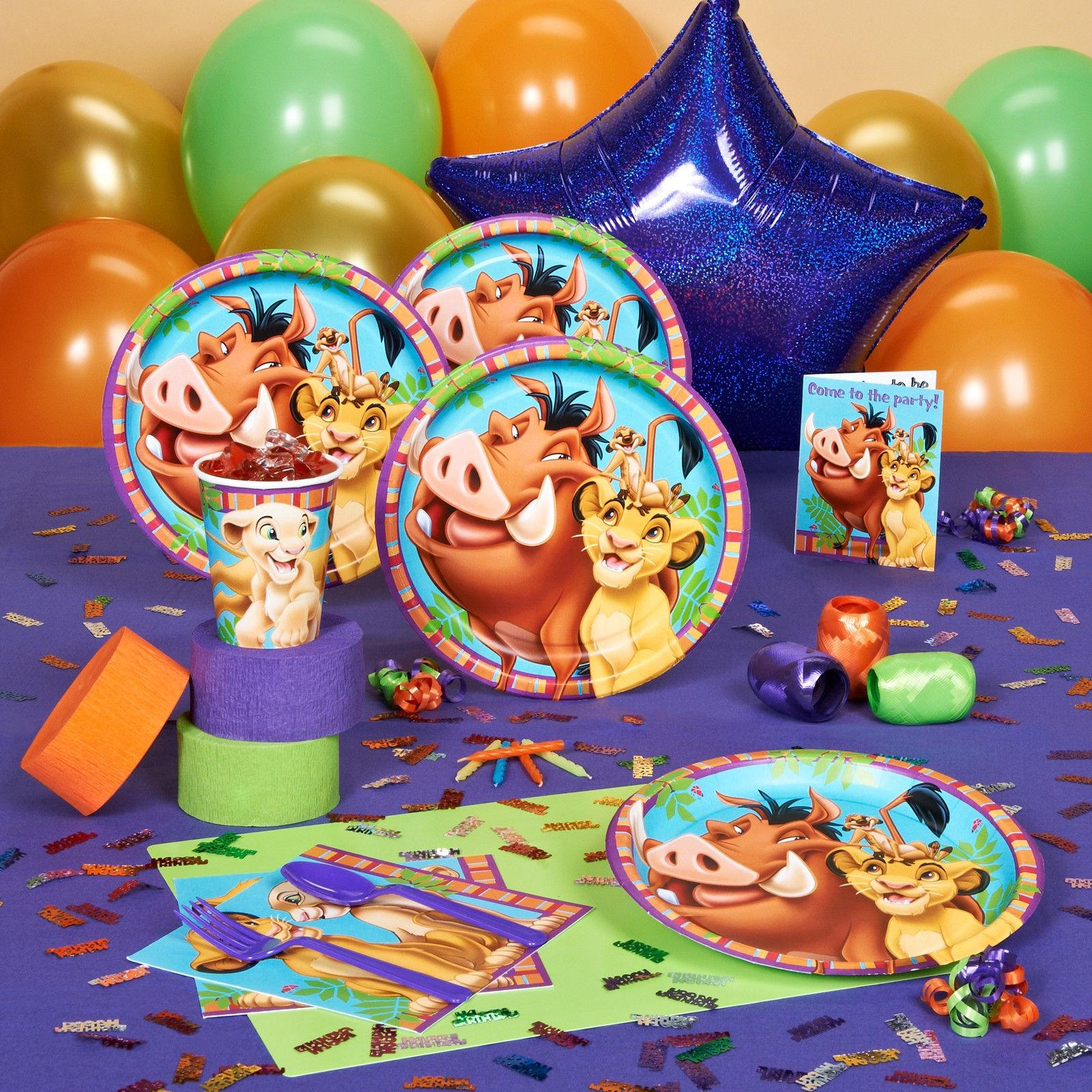 Lion King Party Supplies Lion King Party Lion King