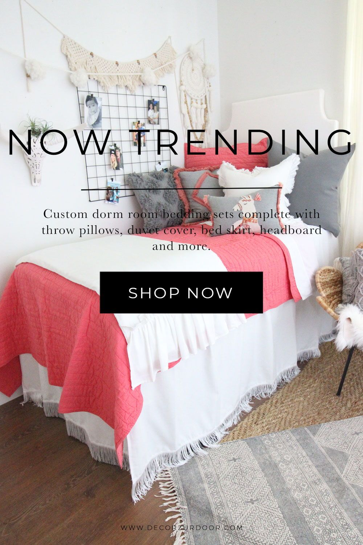Dorm Bedding Packages In 2020 Dorm Bedding Dorm Room Bedding