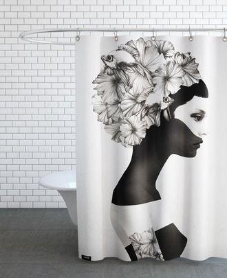 bildergebnis für ausgefallene duschvorhänge | duschvorhang, Hause deko