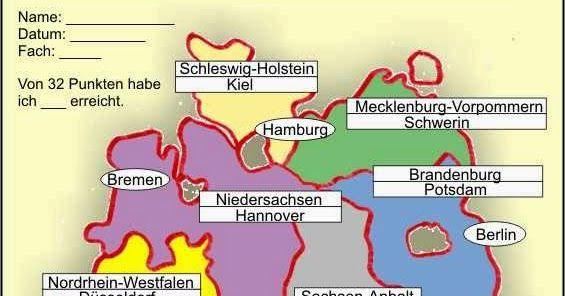 Lerne die Bundesländer und Hauptstädte Deutschlands - YouTube