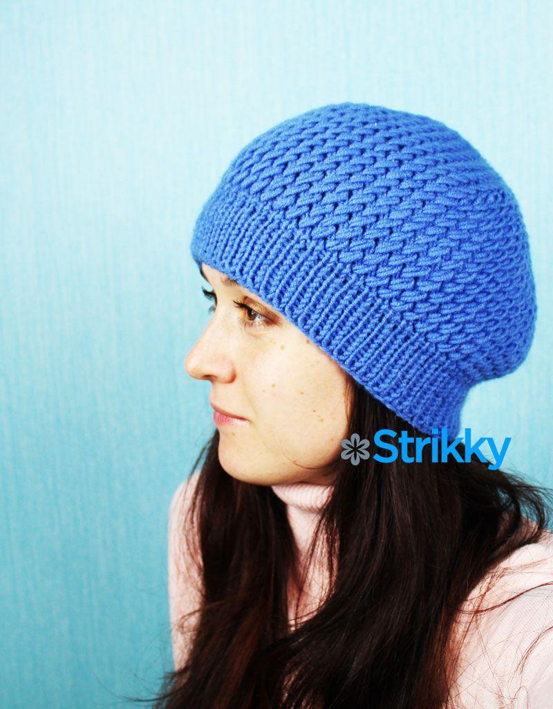 Узор вязания шапочки