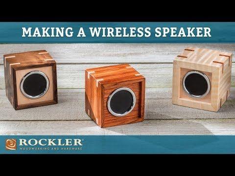 Rockler Wireless Speaker Kit with Playback/Volume Controls