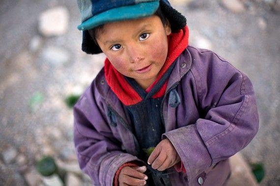 Bolivian child
