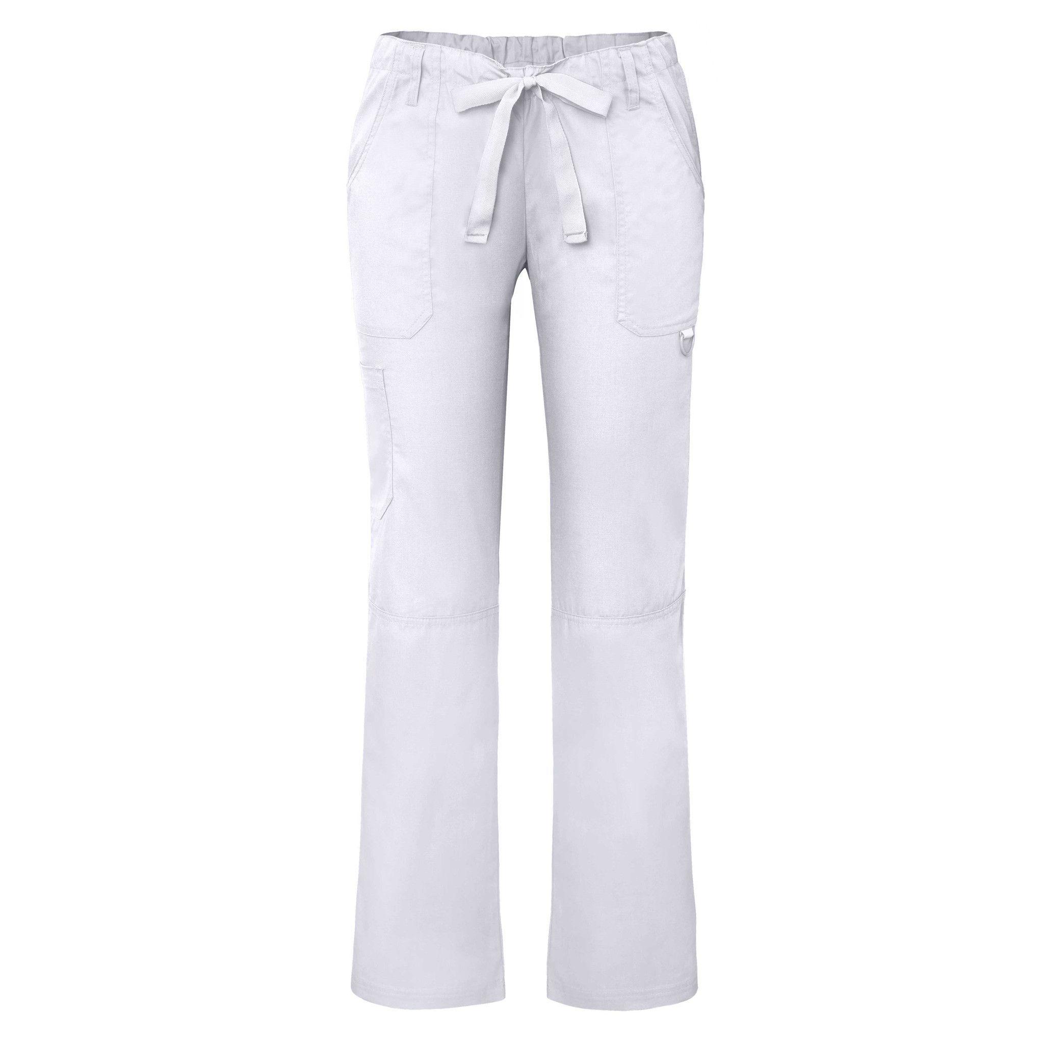Adar Universal Low-Rise Multipocket Drawstring Straight Leg Pants Tall
