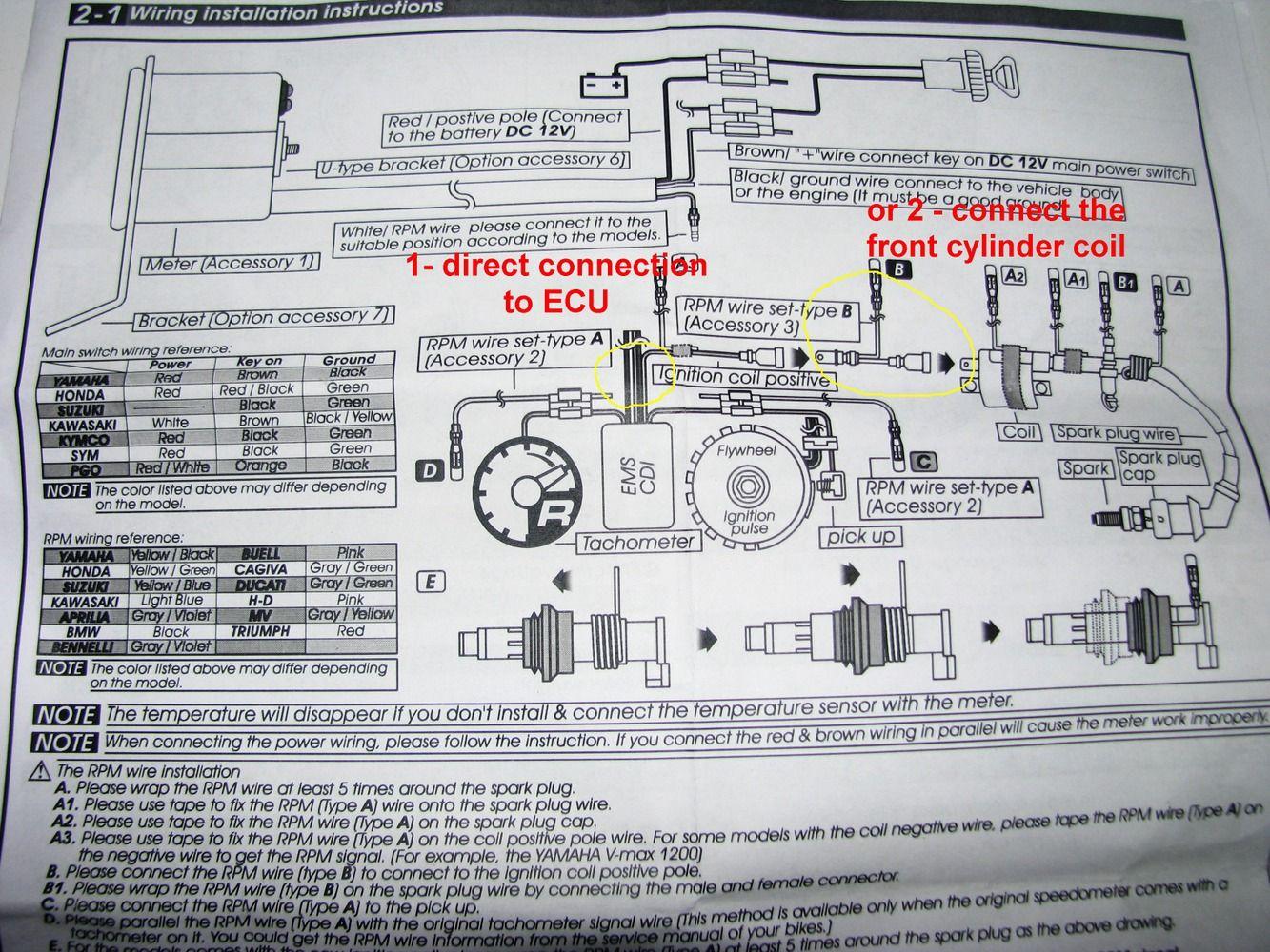 koso tach install koso rpm bullet journal notebook office supplieskoso tach install [ 1333 x 1000 Pixel ]