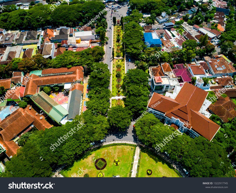 Aerial View Of Malang City Hall Balai Kota Malang And Malang City Hall Fountain Park East Java Indonesia Asia Ad Sp In 2020 Aerial View City Hall Fountain Park