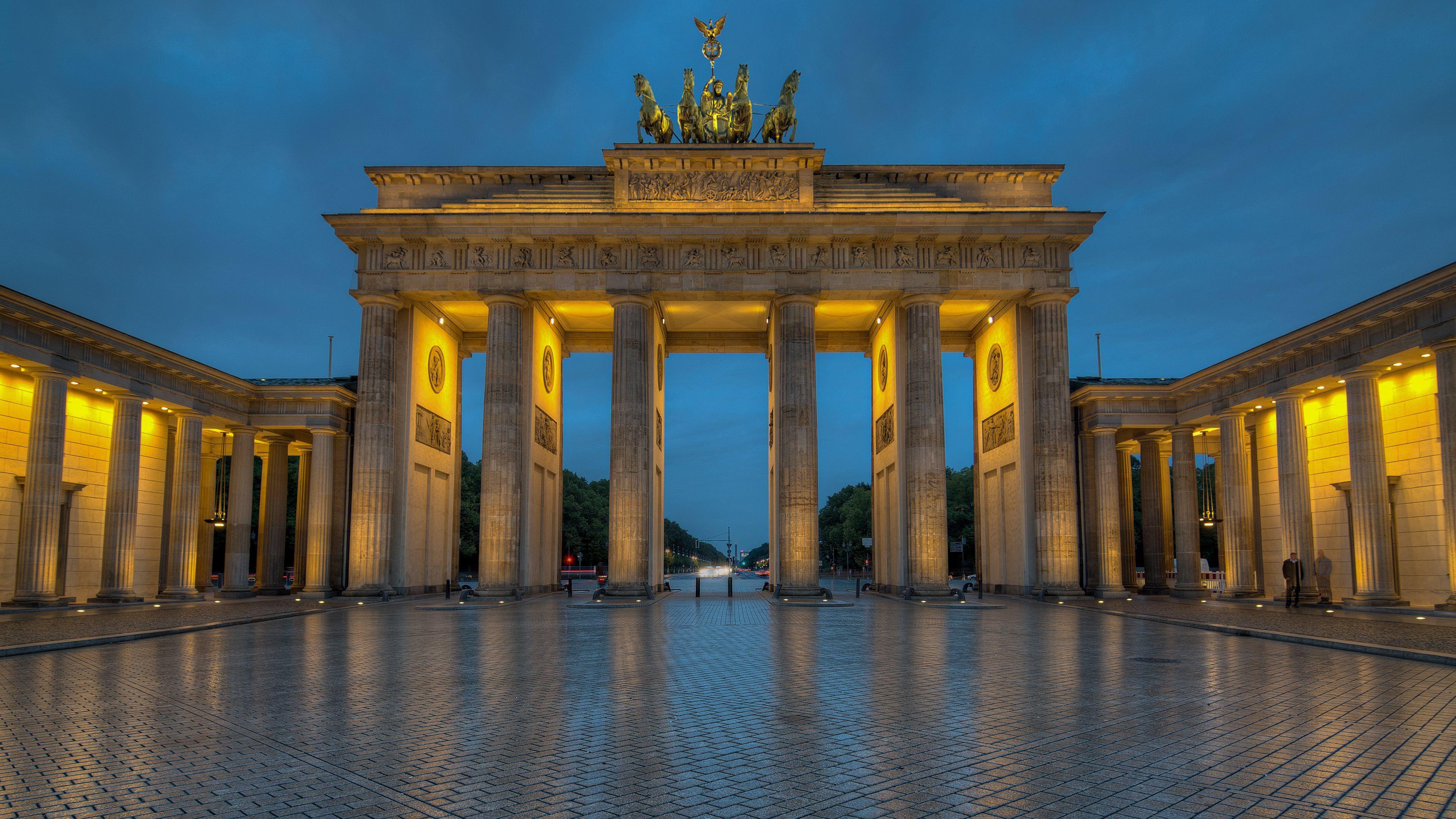 Brandenburg Gate Fond D Ecran Arriere Plan 3840x2160 Id 479507 Brandenburg Gate Brandenburg Germany