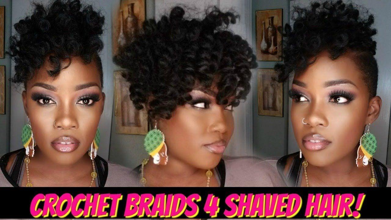 😍1 pack crochet braid quickie 4 shaved hair! | jamaican
