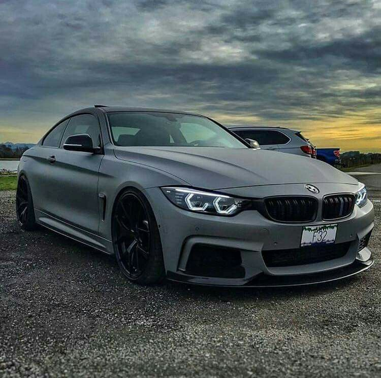 Bmw 4: BMW F32 4 Series Matte Grey
