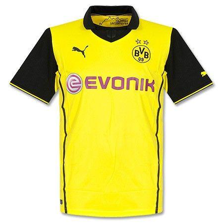 Camiseta del Borussia Dortmund 2013-2014 Champions League