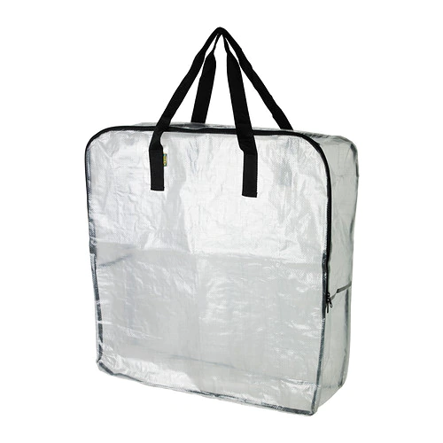 "DIMPA Storage Bag - Clear 25 ½x8 ¾x25 ½ """