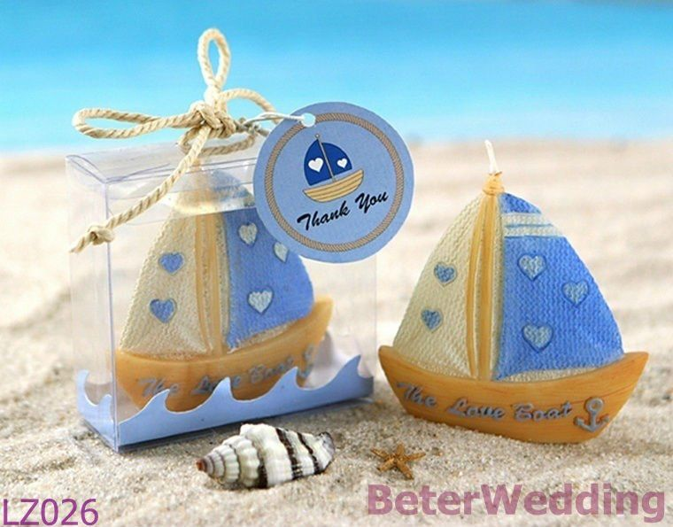 the love boat candle wedding favors wedding gifts wedding