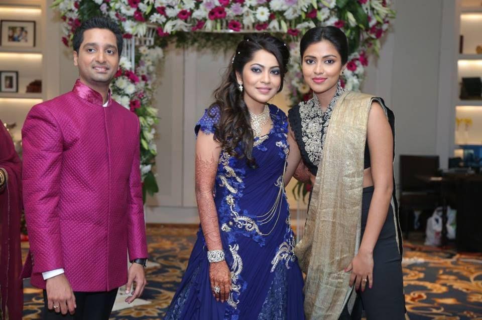 Amala paul wedding reception images