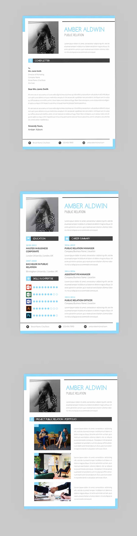 CV Mean Resume Designer InDesign INDD. This layout is