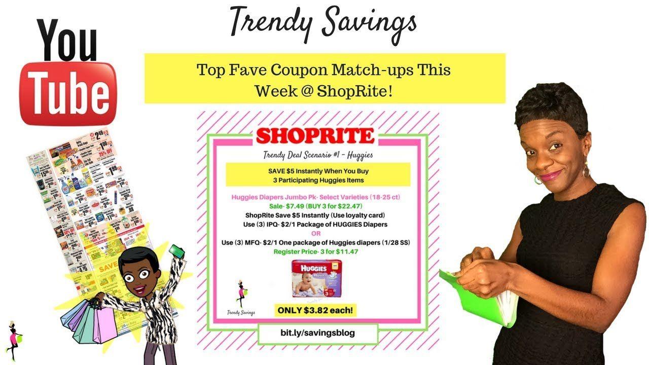 ShopRite Couponing Deals u Matchups This Week  Great
