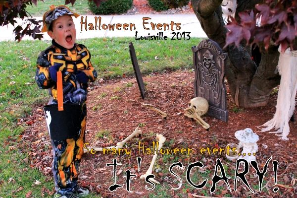 click to find a comprehensive list of family fun events around louisville for halloween 2013