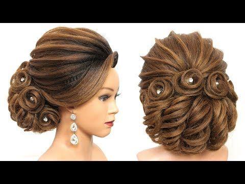 Bridal Updo Tutorial Wedding Prom Hairstyles For Long Hair Youtube Prom Hairstyles For Long Hair Bun Hairstyles For Long Hair Updo Tutorial