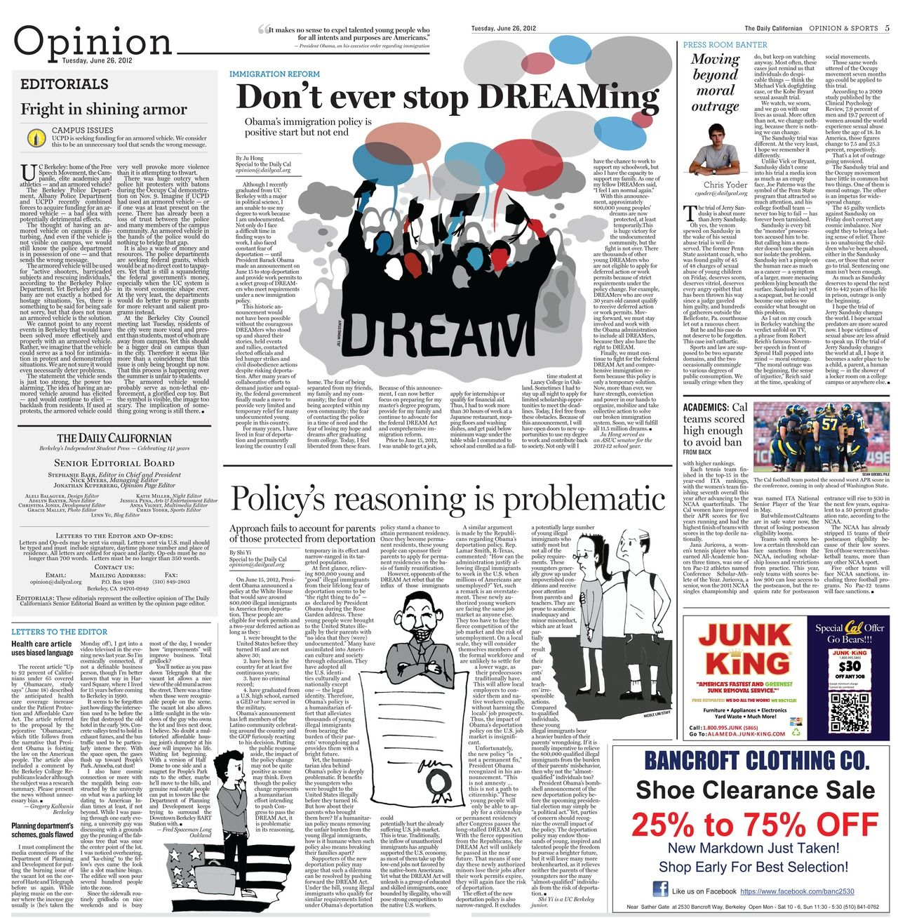 newspaper opinion page designs - Google Search | Zeitung Design ...