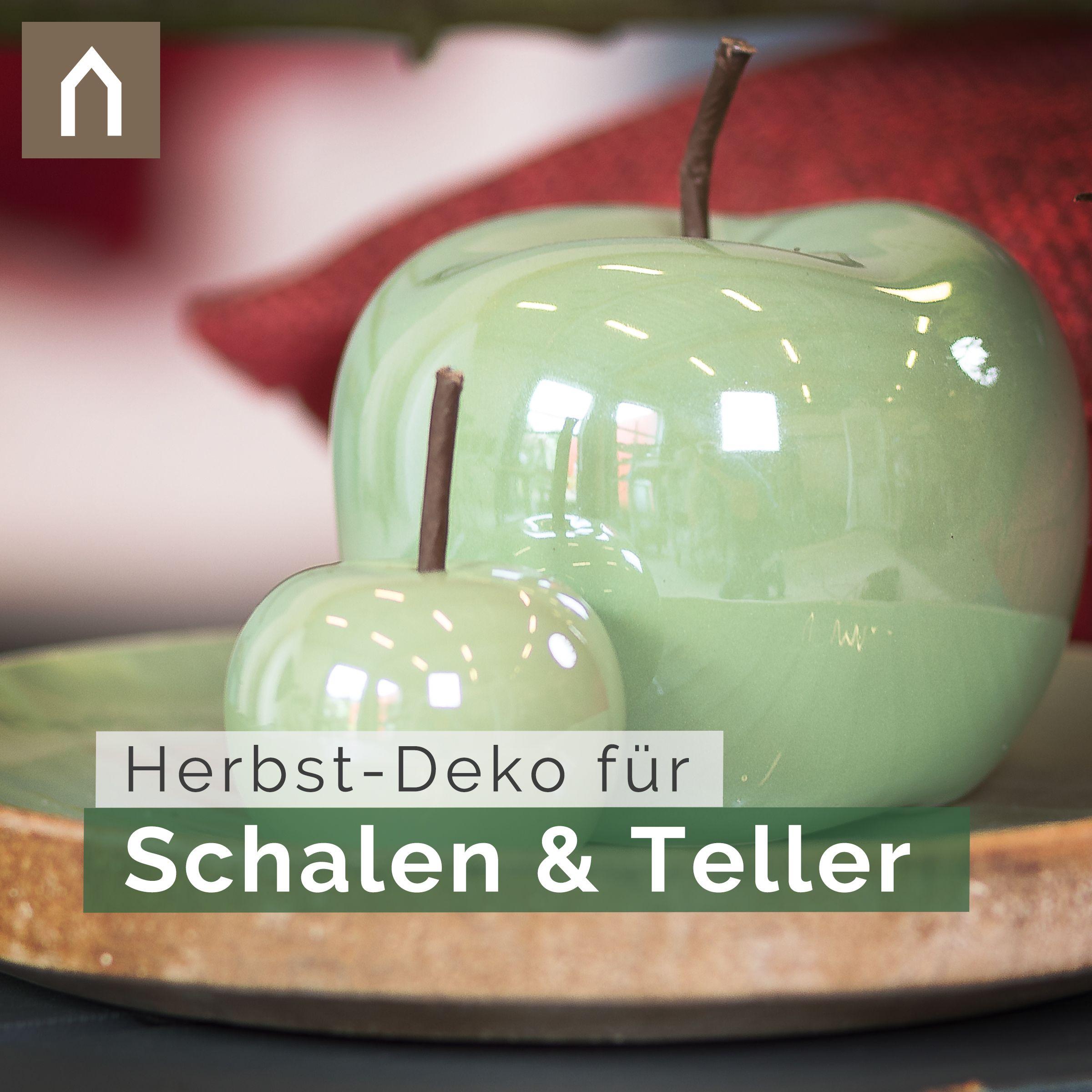 Keramik Apfel Wohlgeformte Dekoration Fur Schalen Und Teller