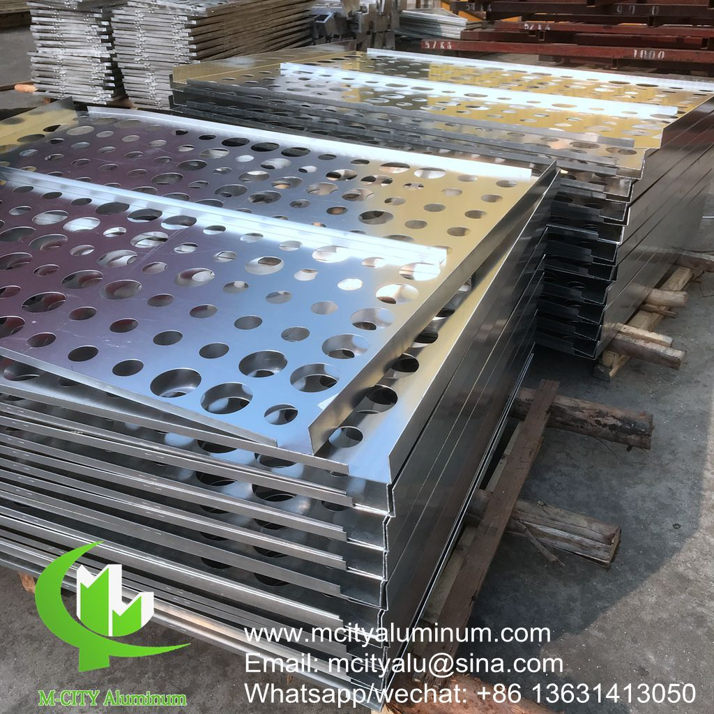Perforation Sheet Metal Cladding For Building Wall Cladding Column Supplier Located In China Metal Cladding Wall Cladding Aluminium Cladding