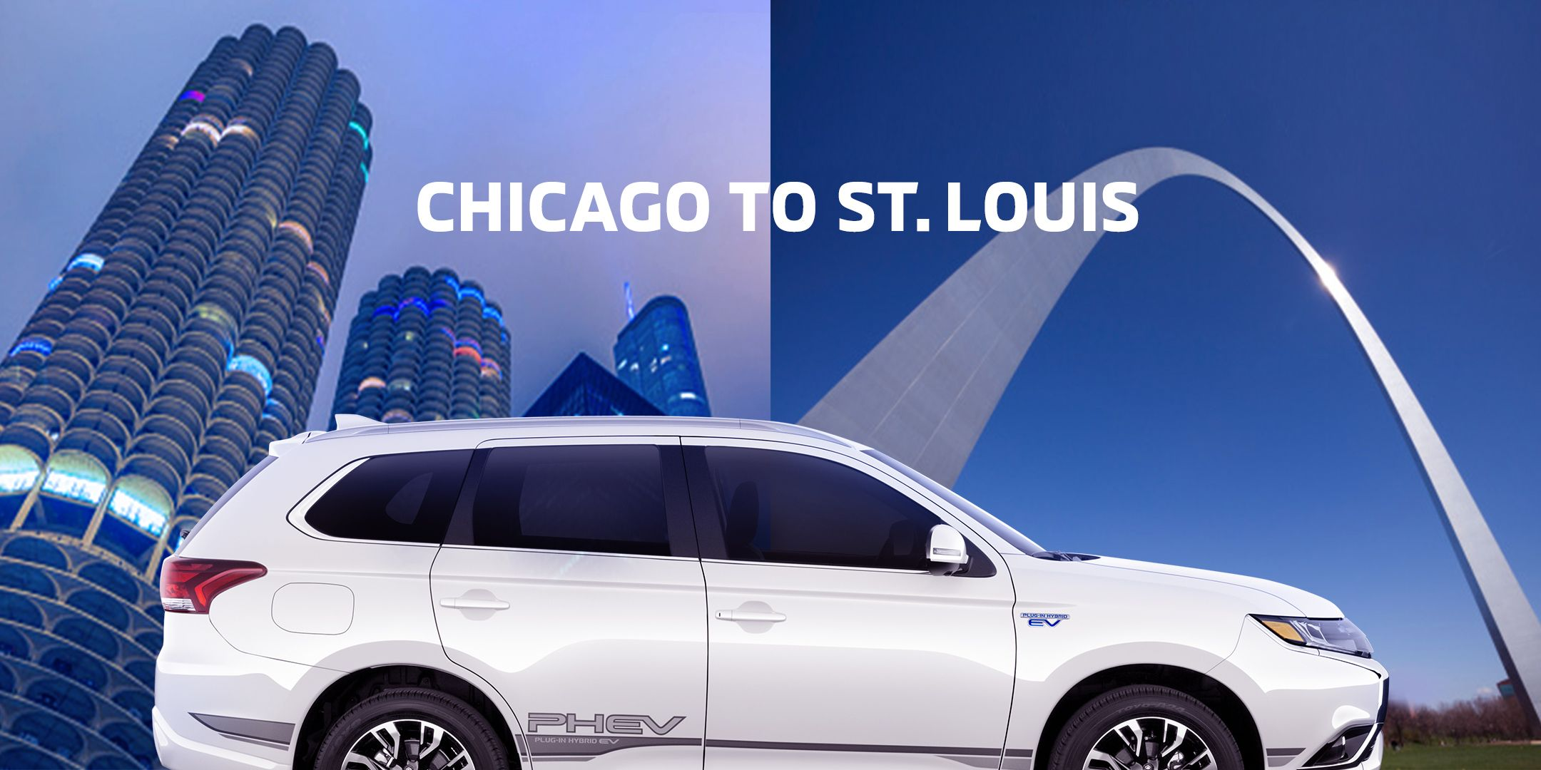 The Outlander Phev A Charge Ready To Go From Chicago To St Louis