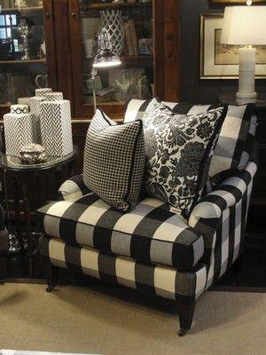 Decorate With Buffalo Checks For Charming Interiors White Decor