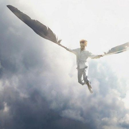 Increíbles imágenes surrealistas de un niño de 14 años