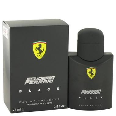 Ferrari Scuderia Black by Ferrari Eau De Toilette Spray 2.5 oz