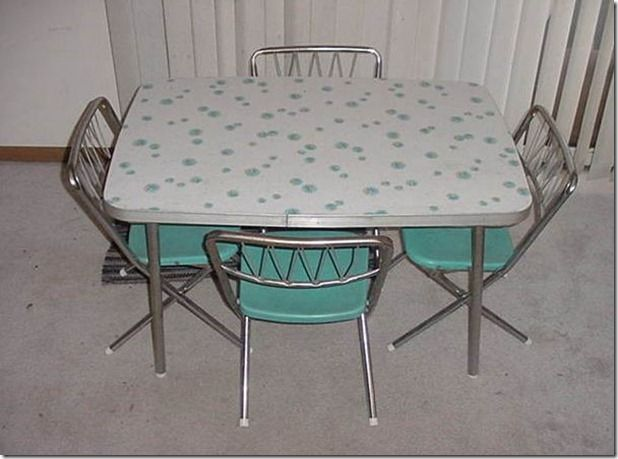 Kool Kitsch For Sale On Ebay Is This A Child S Set I Love It This Is A Child S Set I Have The Vintage Kitchen Table Kitchen Table Settings Vintage Kitchen