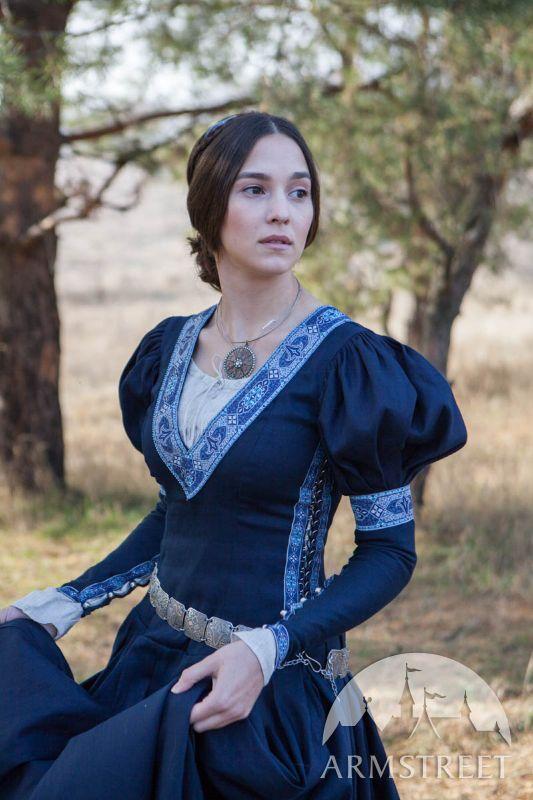 Robe Medievale Princesse Exilee Mittelalter Kleid Mittelalter Kleidung Mittelaltergewand