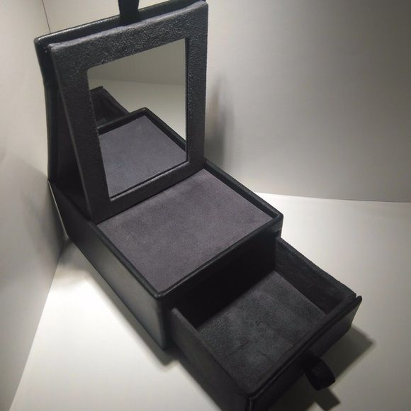 David Yurman Jewelry Box With Mirror Drawer David Yurman Black