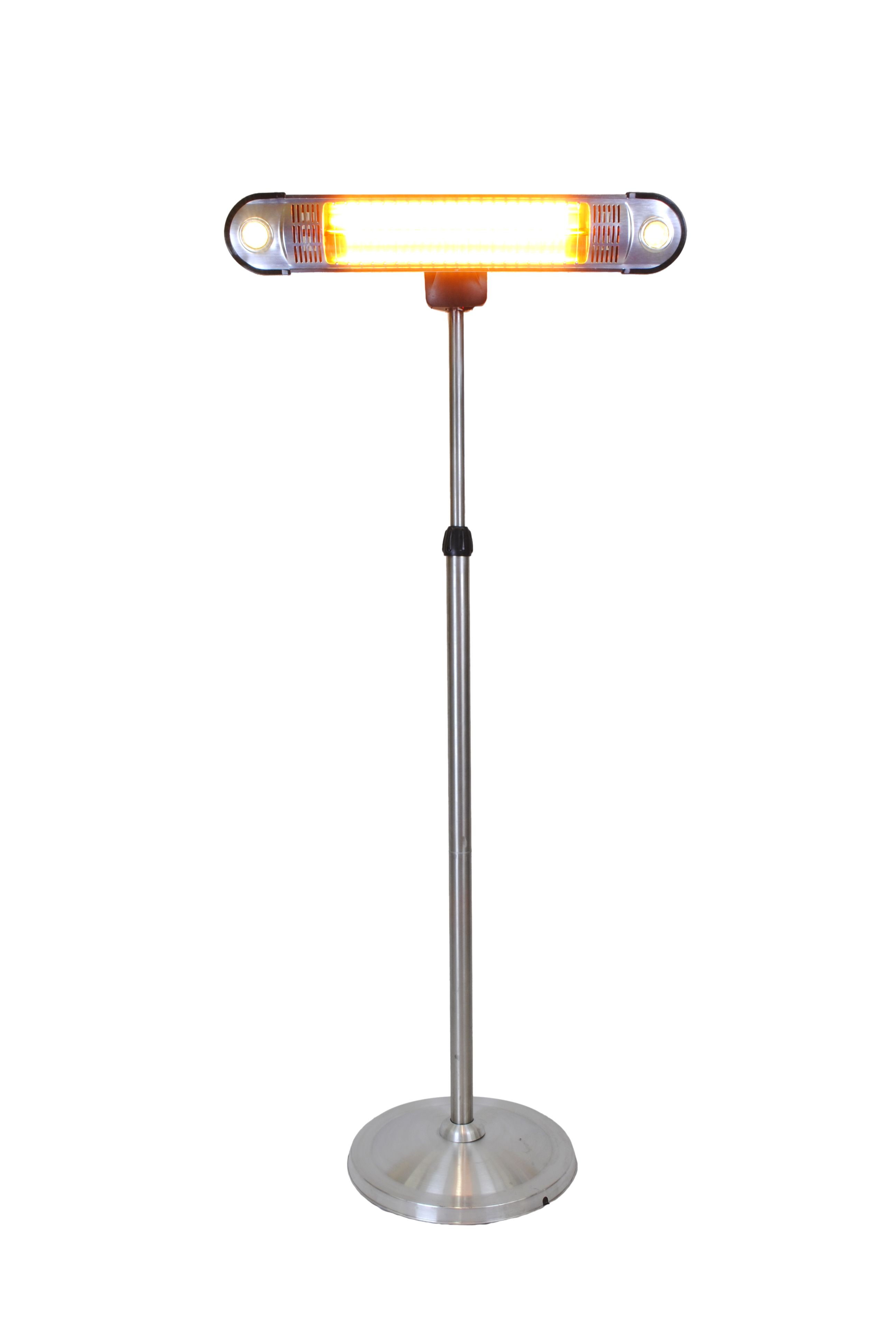 Wall E Patio Heater Stainless Steel