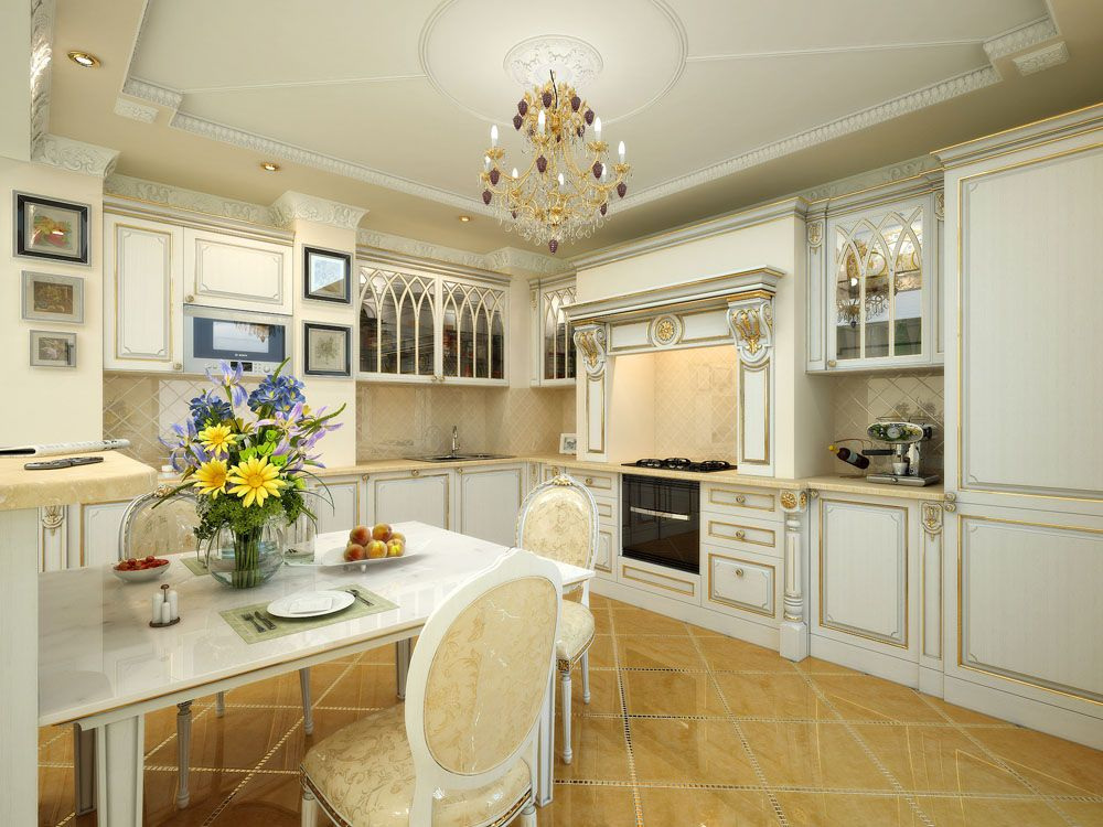 residential 3d interior design kitchen pane | Interior Design ...