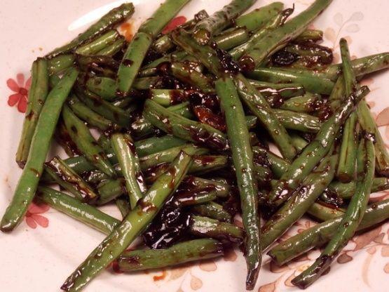 Chinese Buffet Green Beans Recipe In 2019 Green Bean Recipes Green Beans Chinese Buffet Green Beans
