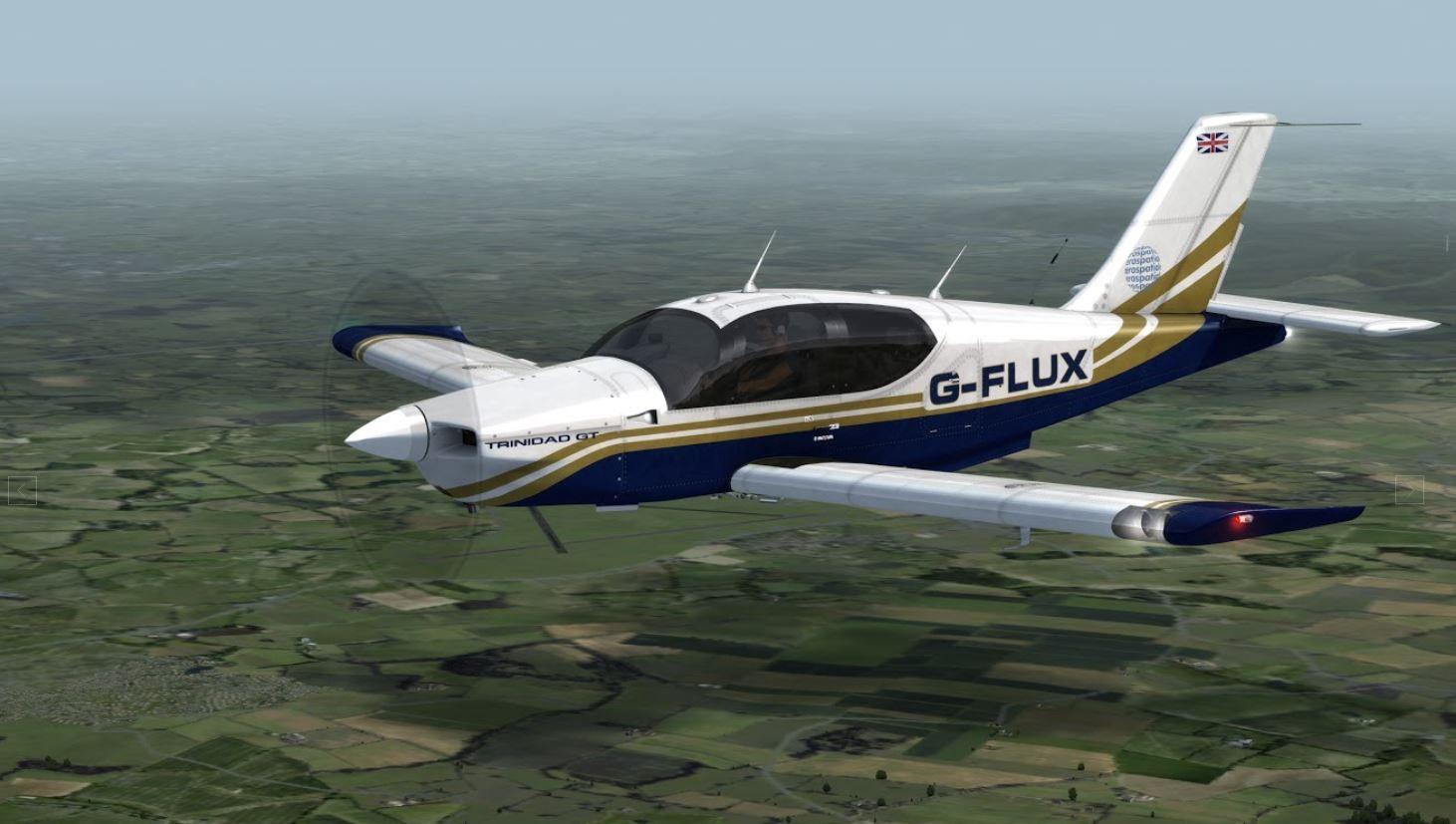 Trinidad Tb21 Gt In Gold And Blue Trinidad Lionheart Aircraft