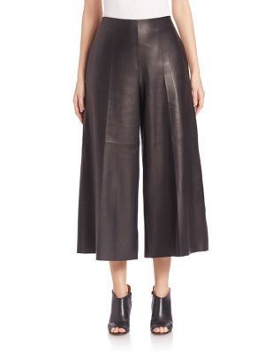 MAISON MARGIELA Leather Culottes. #maisonmargiela #cloth #culottes