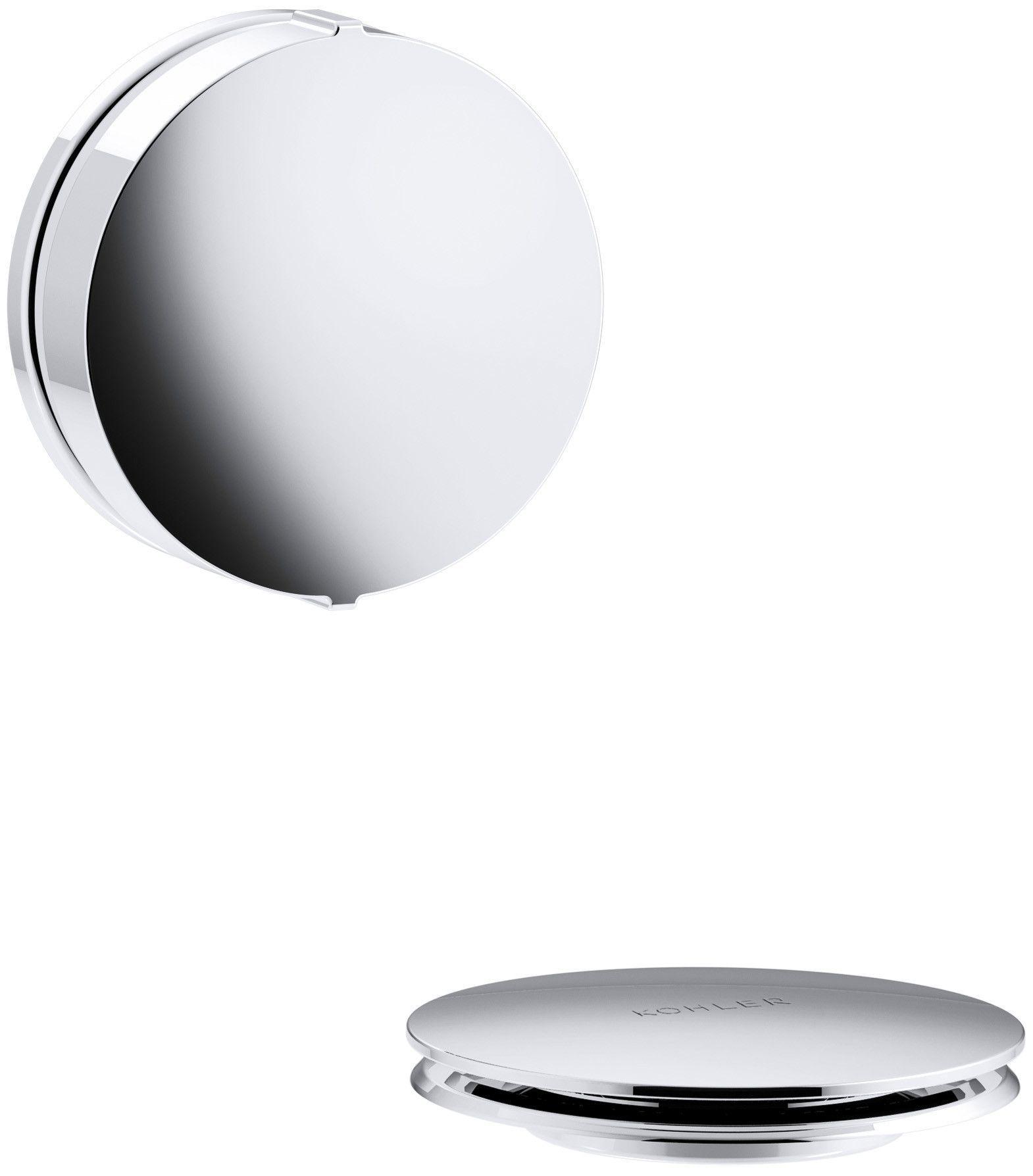 Pureflo Drain Stopper Tub Drain Polished Chrome Bathtub