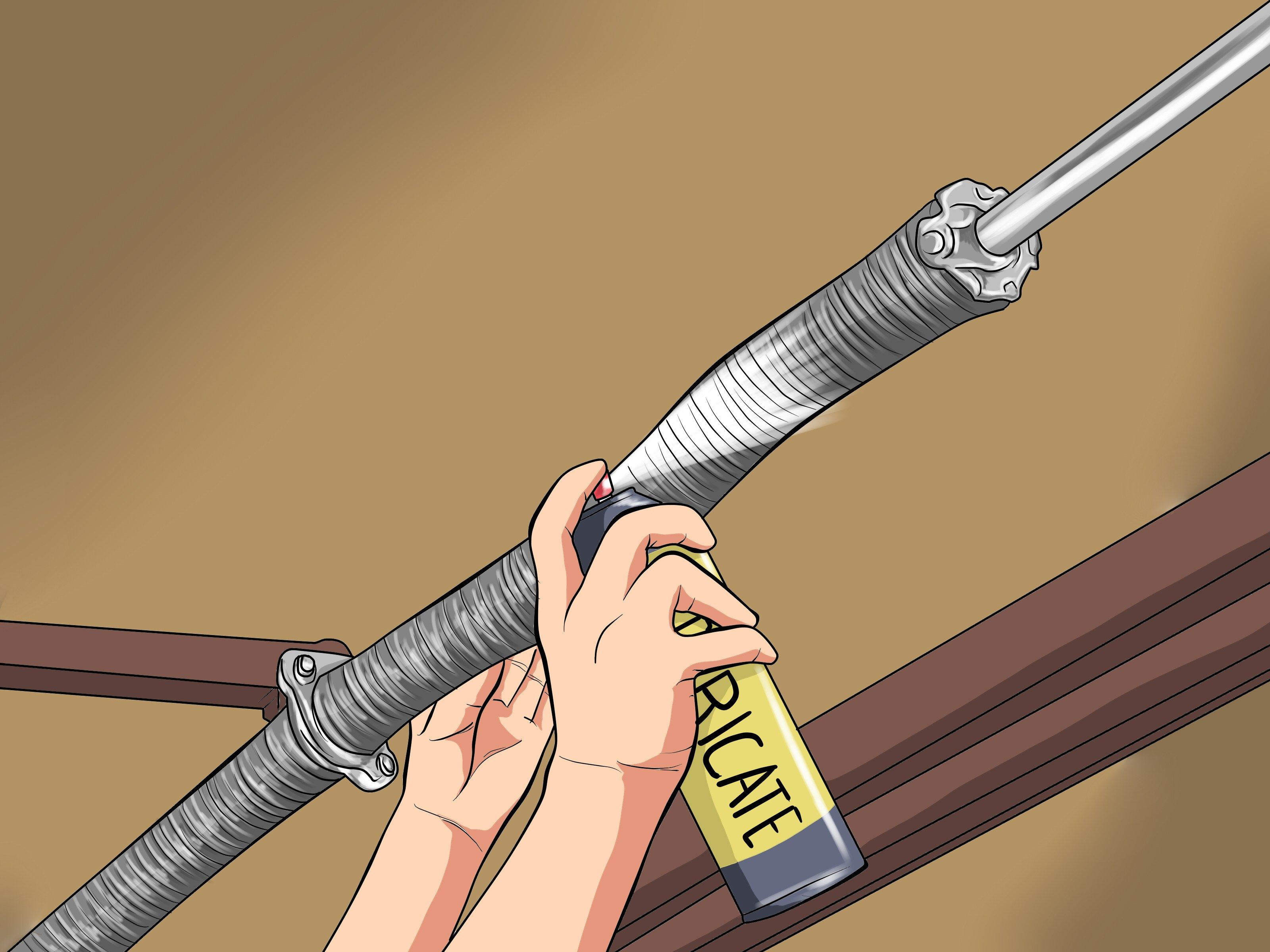 how to adjust a garage door spring with pictures torsion spring