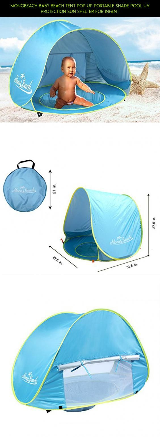 MonoBeach Baby Beach Tent Pop Up Portable Shade Pool UV Protection Sun Shelter for Infant #  sc 1 st  Pinterest & MonoBeach Baby Beach Tent Pop Up Portable Shade Pool UV Protection ...