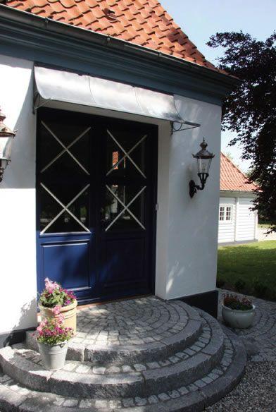 18m Wide Door Canopy Zinc Galvanized