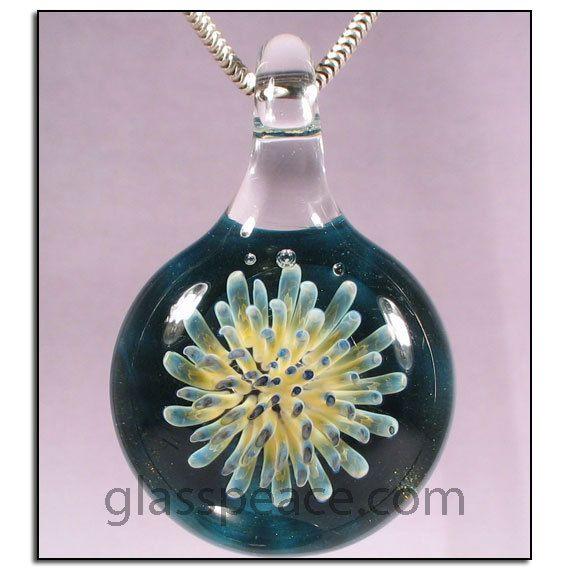 Sale blown glass pendant dot implosion lampwork necklace focal by sale blown glass pendant dot implosion lampwork necklace focal by glass peace 2600 aloadofball Gallery
